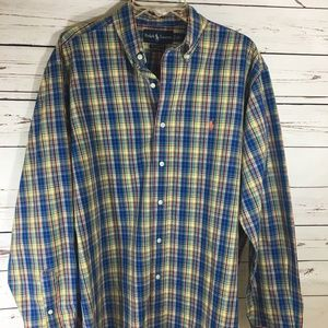 Ralph Lauren Classic Fit Casual Long Sleeve Shirt